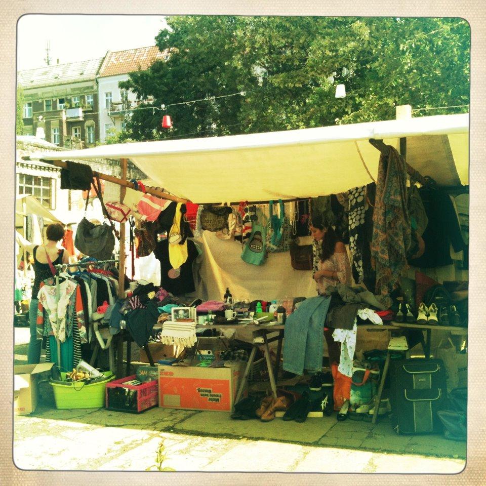 Flea Market Berlin Germany