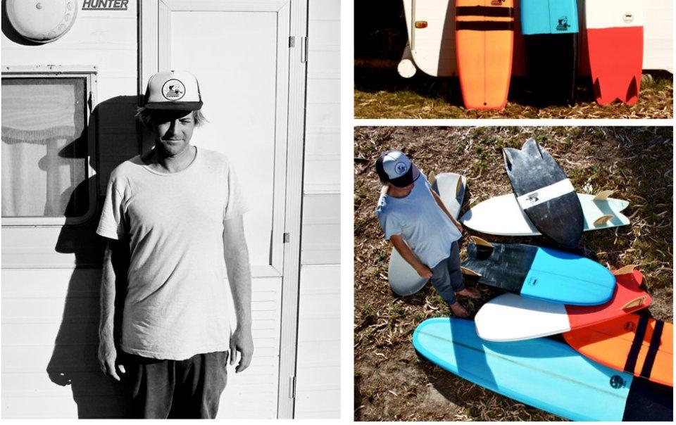 Adrian Knott  Rake Surfboards